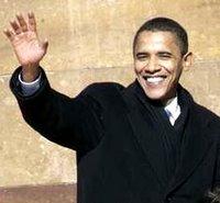 Obama announces for President