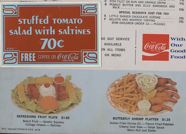 Snackbar Confidential / Art Au Go-Go !: WOOLWORTH'S Lunch