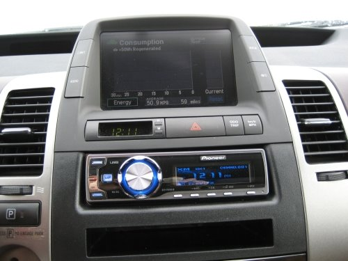 Cdog's Blog: New Stereo for the Prius