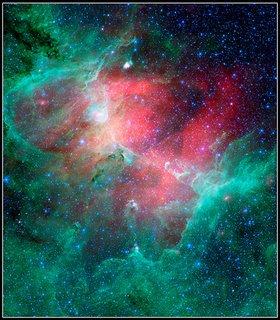 Spitzer's image of the nebula