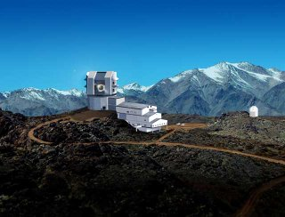 Artist's impression of the LSST