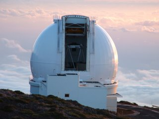 Photo of the William Herschel Telescope, by Sheffield University