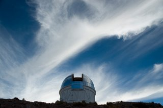 Telescope in Chile