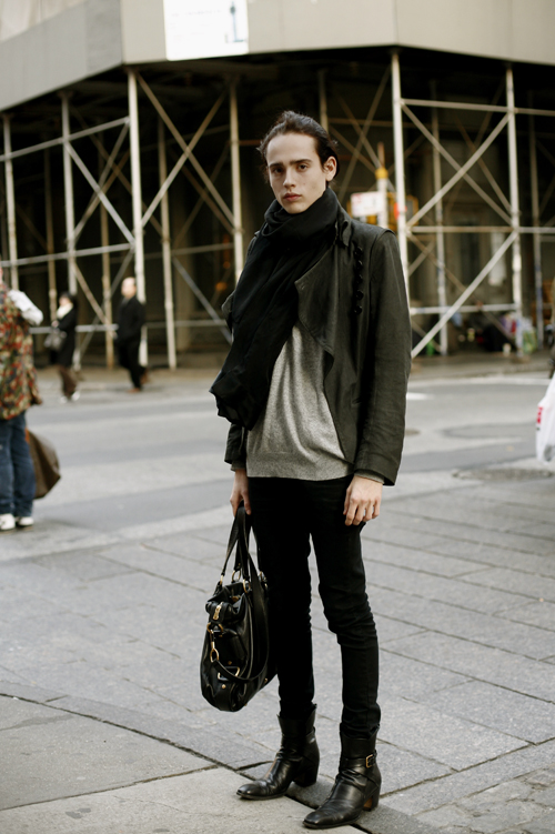 On The Street…Perfect Androgyny, part 2 « The Sartorialist