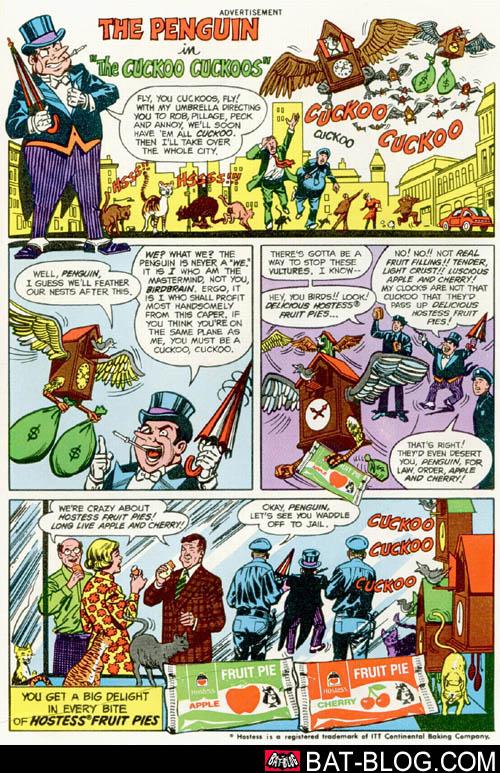 d31c87b9 HOLY APPLE PIES, BATMAN! Vintage Food Advertising