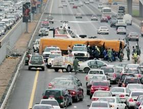 Life in Dubai: Horror crash on Sheikh Zayed Road