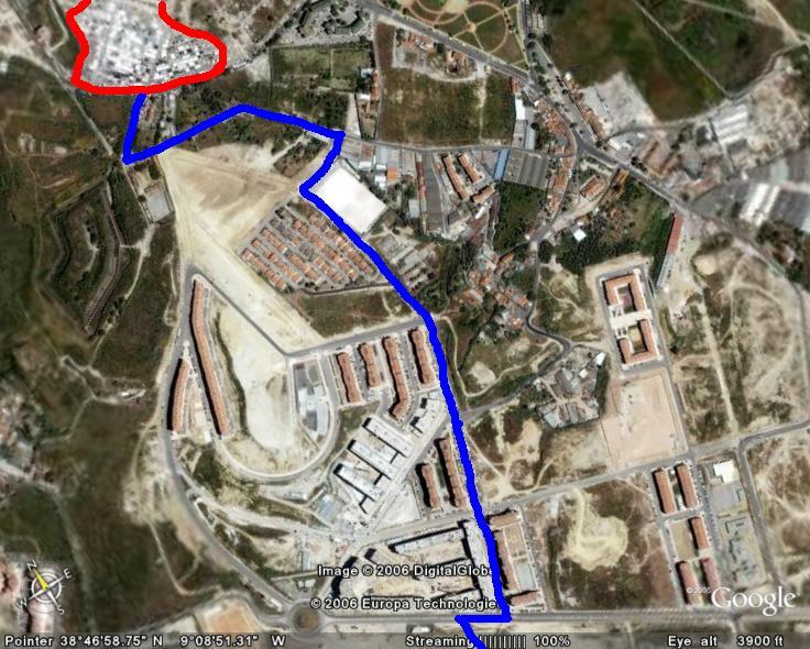 alta de lisboa mapa Viver na Alta de Lisboa: Mercado das Galinheiras alta de lisboa mapa