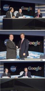 NASA Google deal