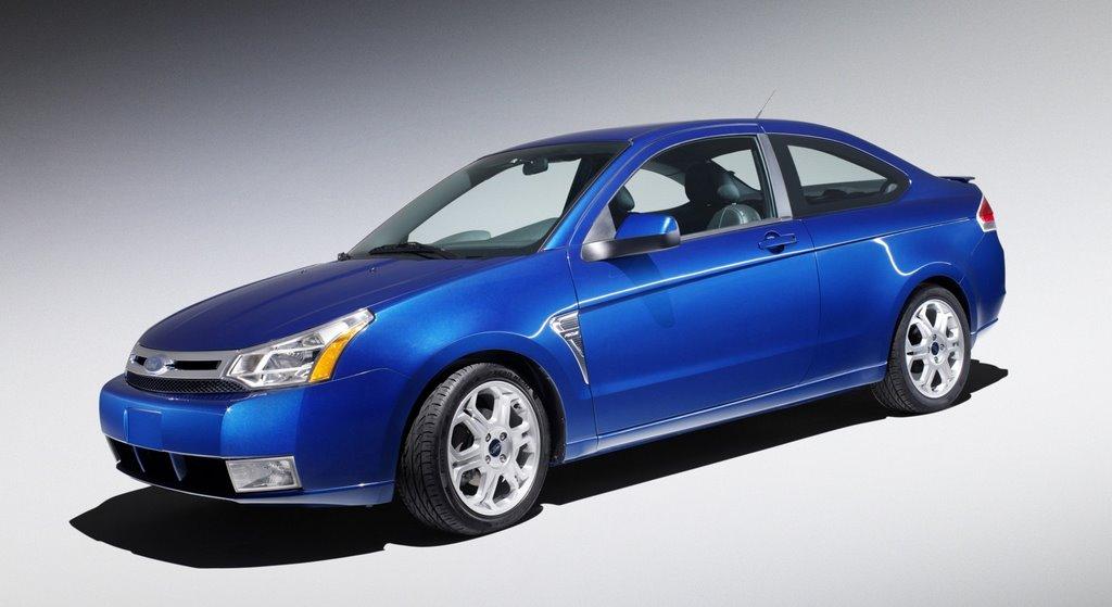 detroit auto show 2008 ford focus sedan coupe. Black Bedroom Furniture Sets. Home Design Ideas