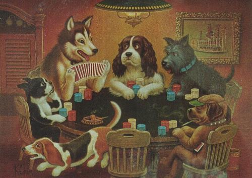 Perros Jugando Al Poquer