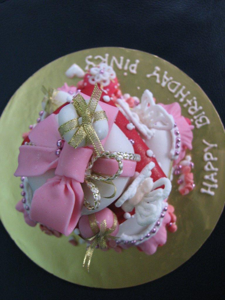 Happy Birthday Pinky Cake Images