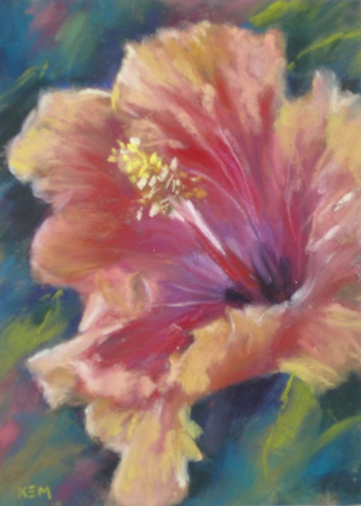 Painting My World Daily Paintinghibiscus Flower