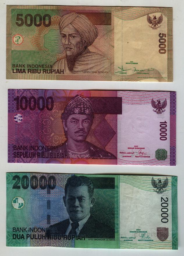 angela's stamps and coins: Souvenir Paper Money From BALI