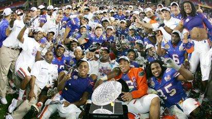 Florida Gators NCAA Football Champions