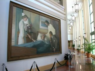 The Consultation in Hospital Lobby