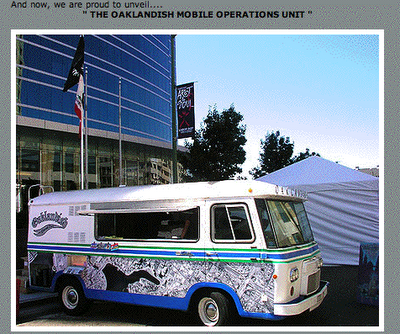 THE OAKLANDISH MOBILE OPERATIONS UNIT