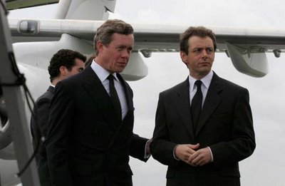 Alex Jennings and Michael Sheen in The Queen, directed by Stephen Frears, 2006