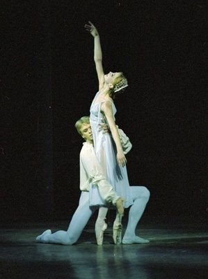 Andrian Fadeyev (Romeo) and Evgenya Obraztsova (Juliet), Kirov Ballet, photo by Natasha Razina
