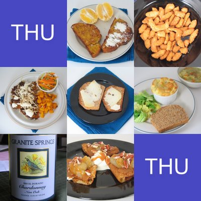 Thursday Food Collage