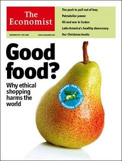The Economist copertina commercio equo e solidale foto
