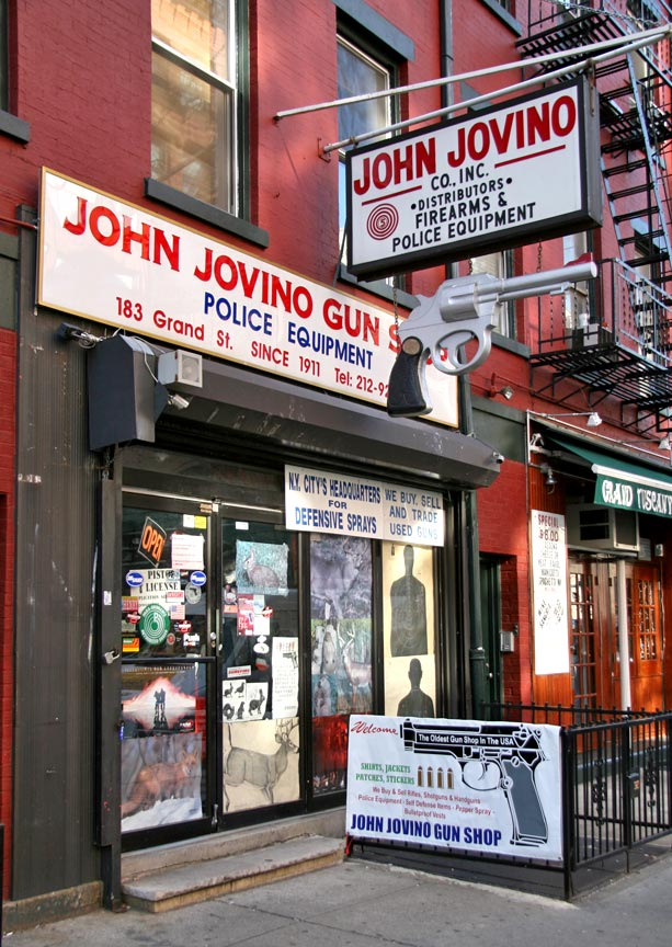 New York Daily Photo: John Jovino Gun Shop