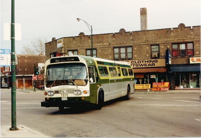 Eddie's Rail Fan Page: Route # 52A South Kedzie Avenue bus