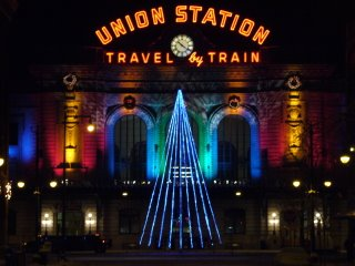Photograph of Denver's Union Station by Joe Beine