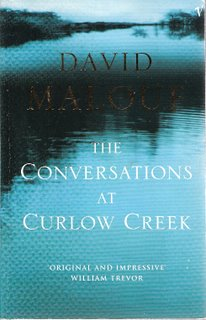 The Conversations at Curlow Creek bookcover; Vintage