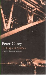 30 Days in Sydney bookcover; Bloomsbury