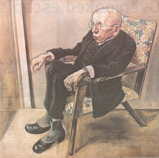The Writer Max Herrmann-Neisse by George Grosz