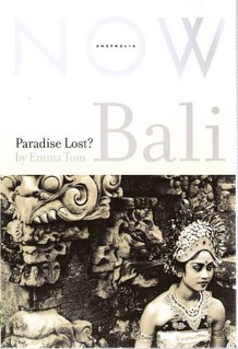 Bali: Paradise Lost? bookcover; Pluto Press