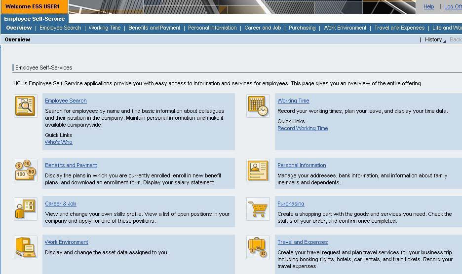 SAP Netweaver Corner: Introduction to SAP Employee Self Services