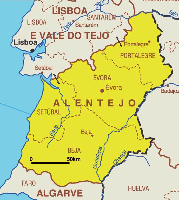 mapa do alentejo alqueva EATIG 2006 2007: Abril 2007 mapa do alentejo alqueva