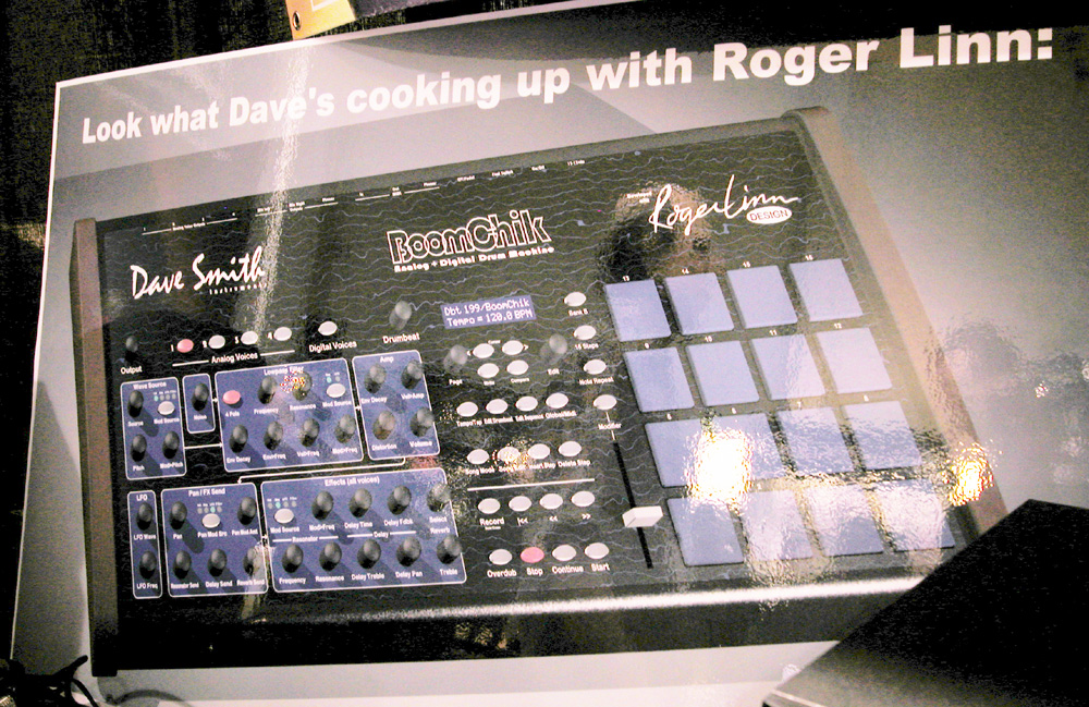 MATRIXSYNTH: Dave Smith and Roger Linn Drum Machine