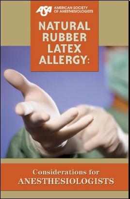 Latex allergy in the operating room