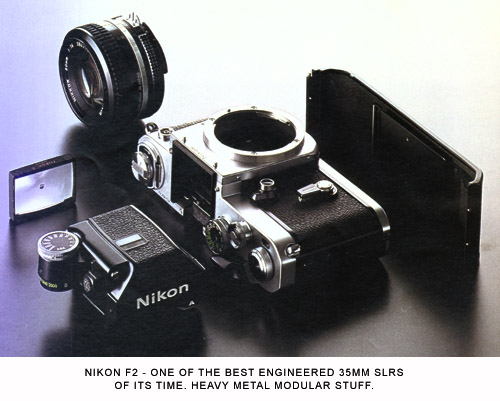 Heavy Metal Revisited - The Nikon F2 | AjaxNetPhoto com Photography