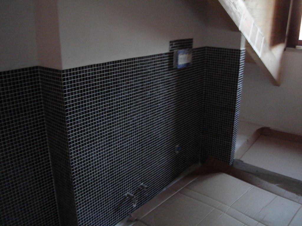 Bisazza mosaico bagno alternabito