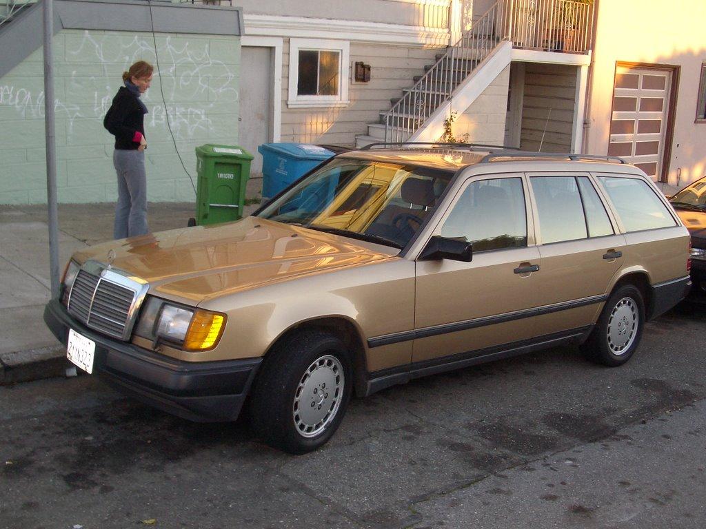 Meet Eleanor -- the new 1987 Mercedes-Benz 300TD Turbo Wagon