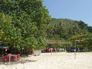 View of The Beach Bar from the beach