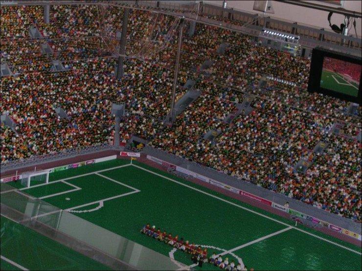 Lego Football Stadium | Damn Fresh Pics