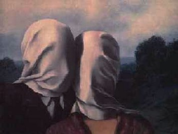 The lovers - Magritte