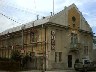 Malacké kino počas rekonštrukcie