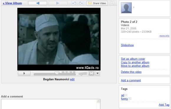 Picasa Web Albums Gets Search, Tags, Videos