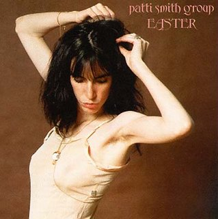 Patti Smith and her armpit