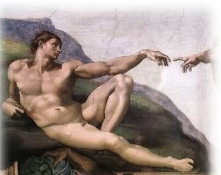 Adam from the Creation of Adam on the Sistine Chapel Ceiling