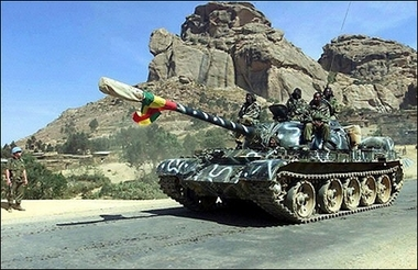 OromiaTimes: Ethiopian Tanks in Somalia