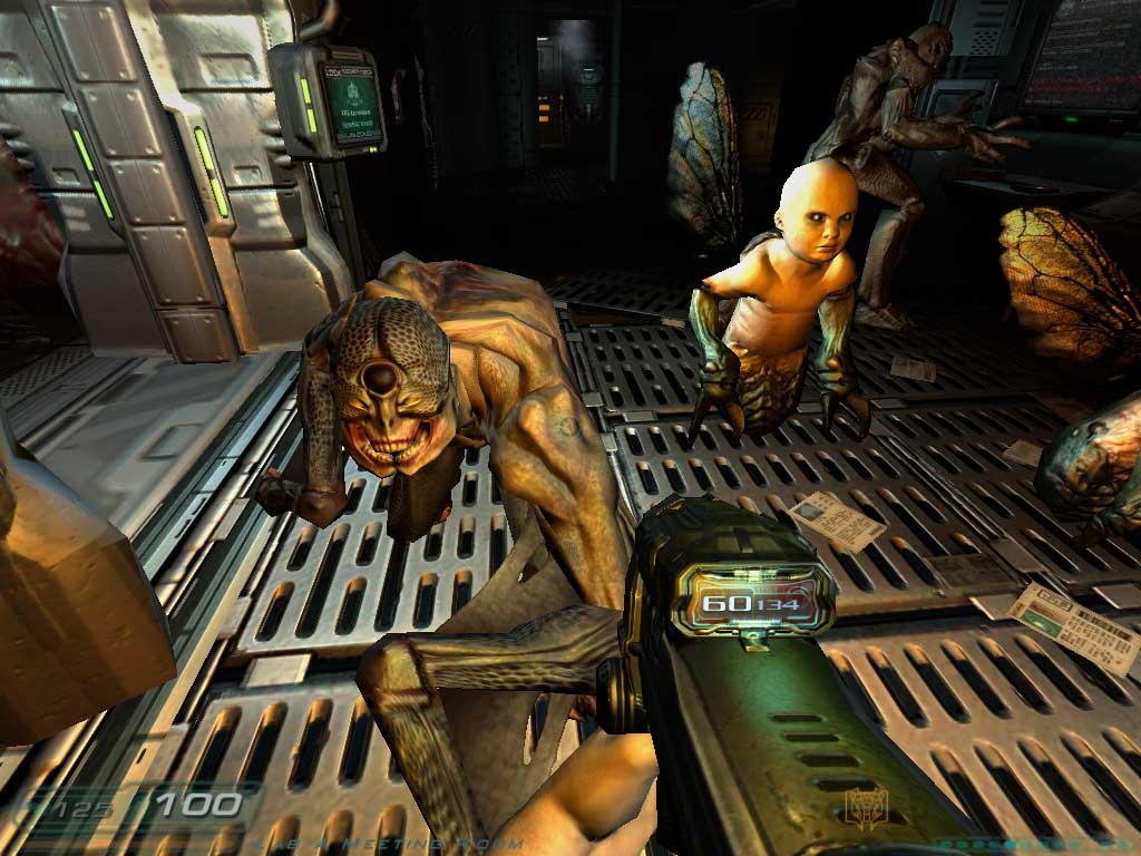 Arbiter's Judgement: Doom 3 (PC) and Speed Demos