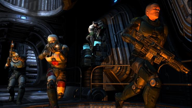 Arbiter's Judgement: Quake 4 (Xbox 360) Demo Impressions