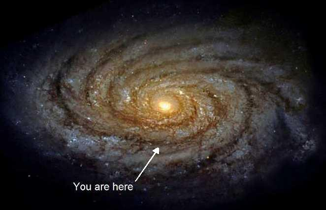 you are here milky way galaxy - photo #14
