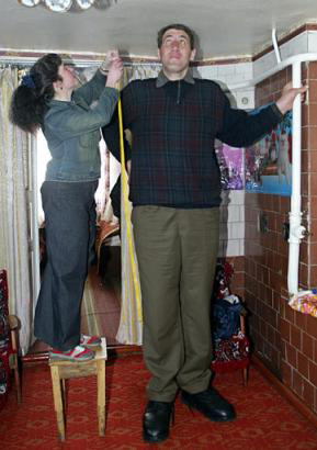 Confessions of a Caffinated Zoomie: World's Tallest Man ...
